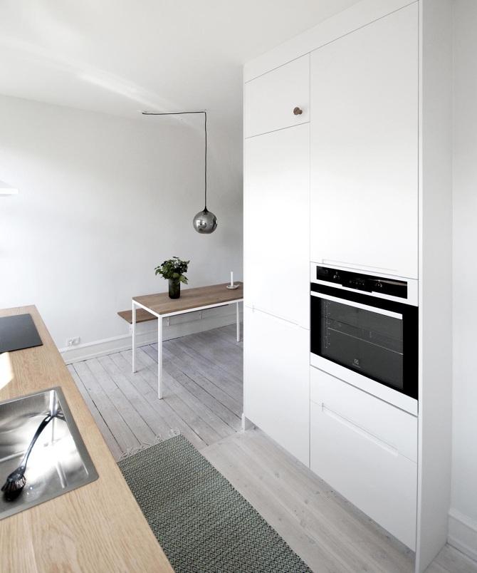 Renovering: køkken og siddeplads   dissing / madsen aps